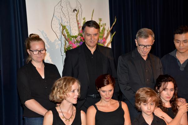 Kari Bernston, Robert Cuccioli, Arnie Burton, David Huynh, Nancy Anderson, Mara Davi, Finn Douglas and Talene Monahon