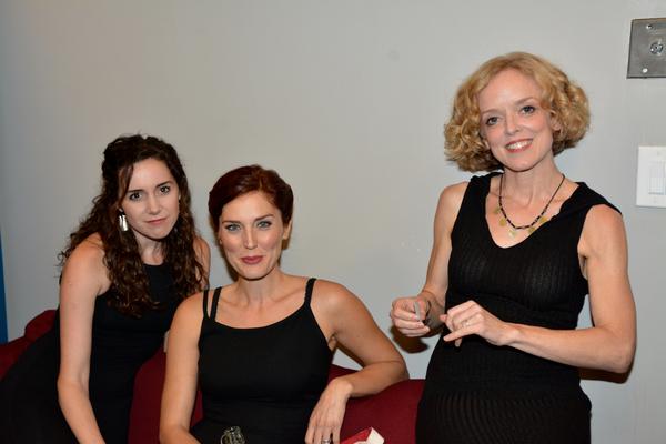 Talene Monahon, Mara Davi and Nancy Anderson