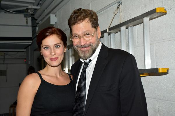 Mara Davi and David Staller