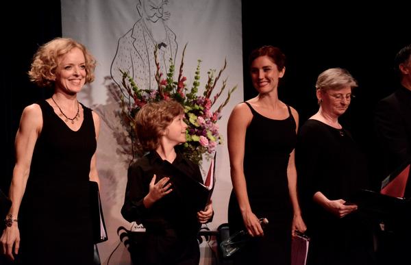Nancy Anderson, Finn Douglas, Mara Davi and Lauren Yarger