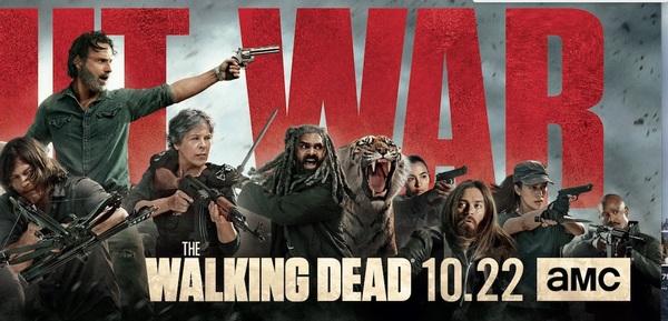 Photo Flash: AMC Releases THE WALKING DEAD Season Eight Key Art