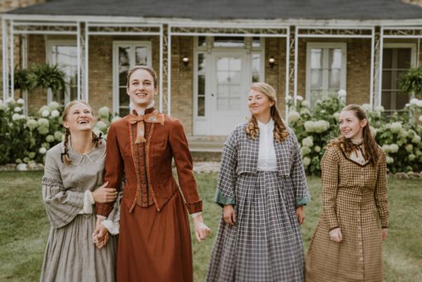 Courtney Denzer, Kat Geertsen, Hannah Esch, and Ella Rose Kleefisch Photo