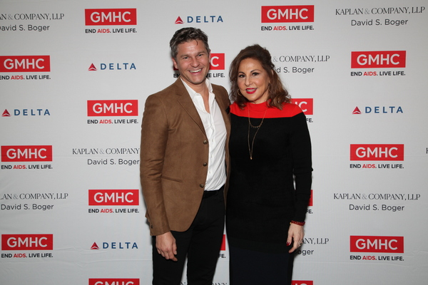 David Burtka and Kathy Najimy