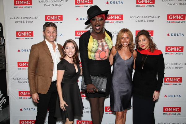 David Burtka, Christina Bianco, Amanda Green and Kathy Najimy