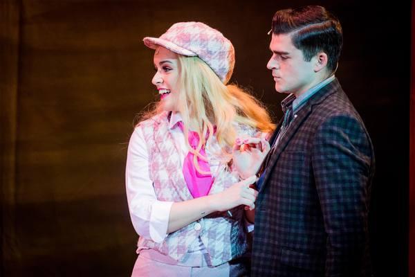 Lucie Jones and Liam Doyle