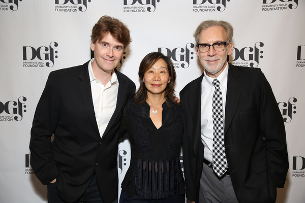 Laurence O'Keefe, Diana Son and Michael Korie Photo