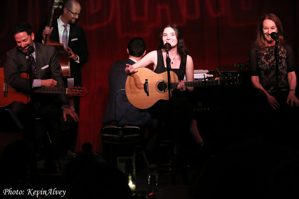 John Pizzarelli, Madeline Pizzarelli and Jessica Molaskey