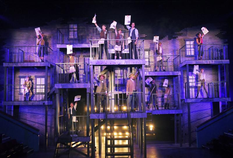 BWW Review: Seizing the Day with DISNEY'S NEWSIES THE MUSICAL at Orlando Repertory Theatre