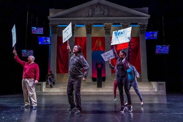 BWW Review: Et Tu, Brute? is Comme Ci Comme Ça with Seattle Shakespeare Company's JULIUS CAESAR