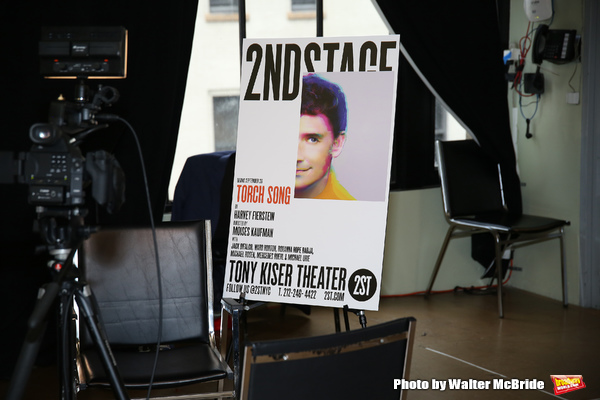 Photo Coverage: Michael Urie and the Company of TORCH SONG Meet the Press!