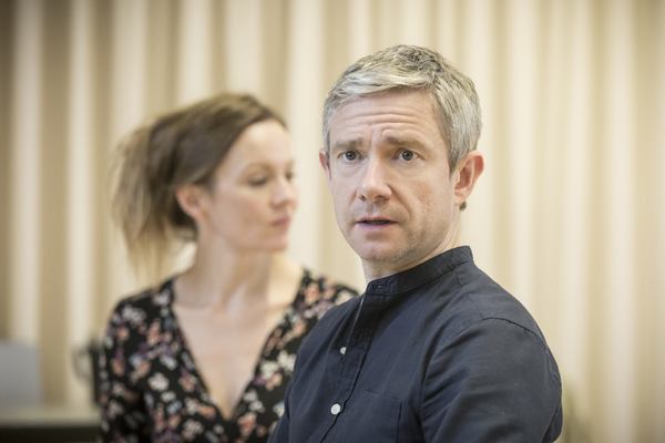 Rachael Stirling and Martin Freeman