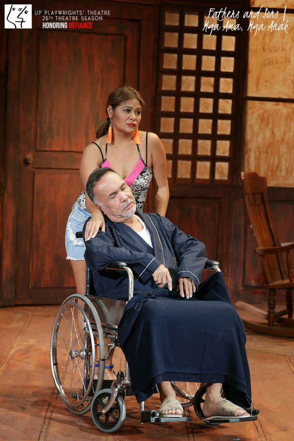 Photo Flash: UP Playwrights Theater Presents Nick Joaquin's FATHERS AND SONS