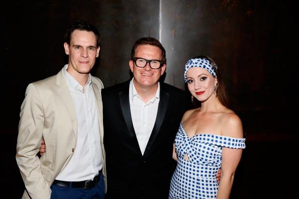 Sam Archer, Matthew Bourne and Ashley Shaw