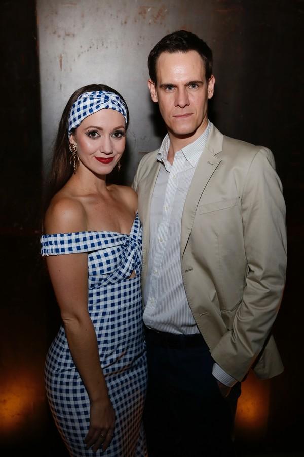 Ashley Shaw and Sam Archer