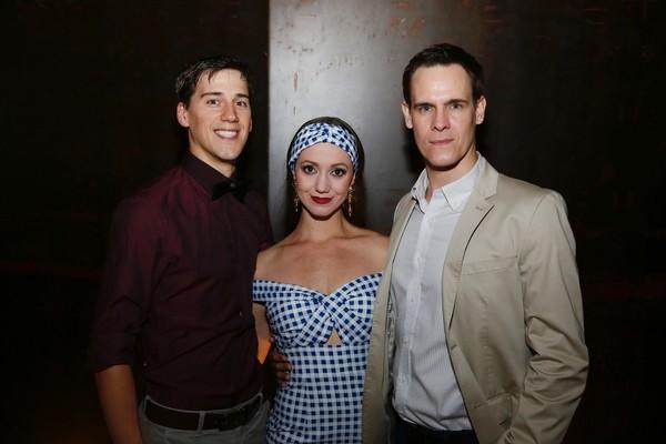 Dominic North, Ashley Shaw and Sam Archer