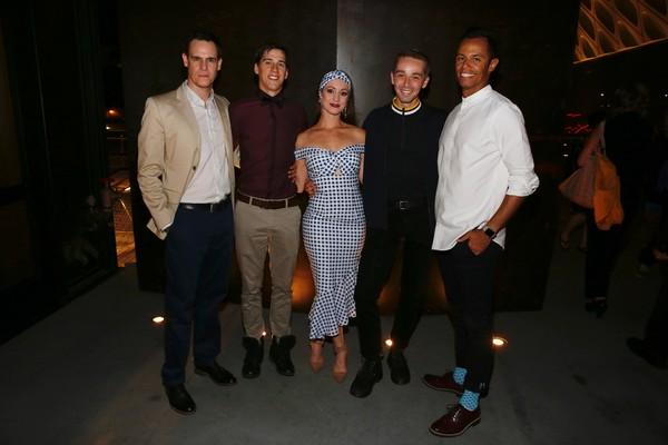 Sam Archer, Dominic North, Ashley Shaw, Liam Mower and Glenn Graham