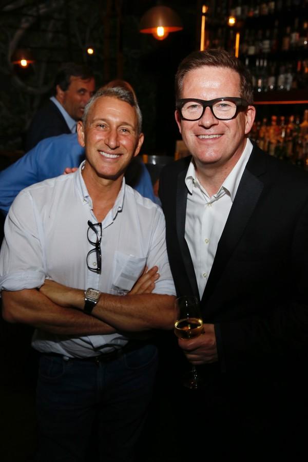 Adam Shankman and Matthew Bourne