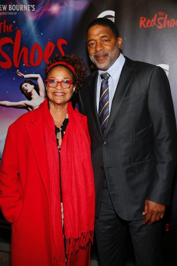 Actor Debbie Allen and basketball player Norm Nixon