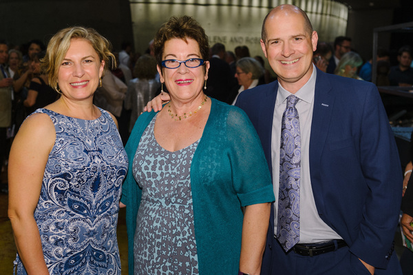Playwright Karen Zacarias, Arena Stage Artistic Director Molly Smith and Director Blake Robison
