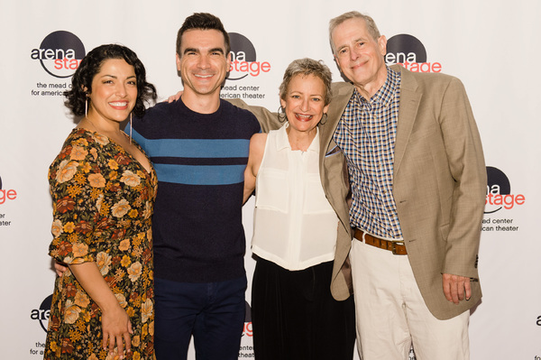 Jacqueline Correa (Tania Del Valle), Dan Domingues (Pablo Del Valle), Sally Wingert (Virginia Butley) and Steve Hendrickson (Frank Butley)