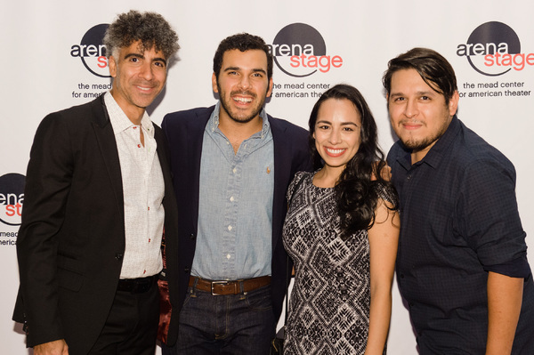 Ensemble members Oscar Ceville, Javier Del Pilar, Guadalupe Campos and Christopher Ri Photo