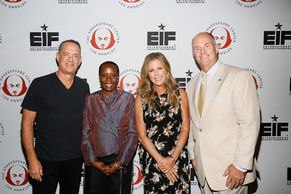 Photo Flash: Tom Hanks and Rita Wilson Host 'FORBIDDEN SHAKESPEARE' Benefit in L.A.
