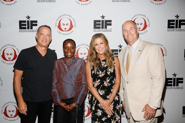 Tom Hanks, Ariel Bell, Rita Wilson and Everett Orrick Photo