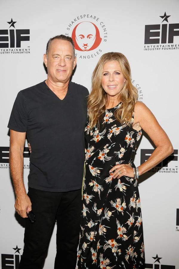Tom Hanks and Rita Wilson Photo