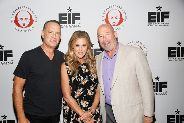 Tom Hanks, Rita Wilson and Tomas Dunbar