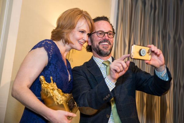 Kate Baldwin and Rick Boynton