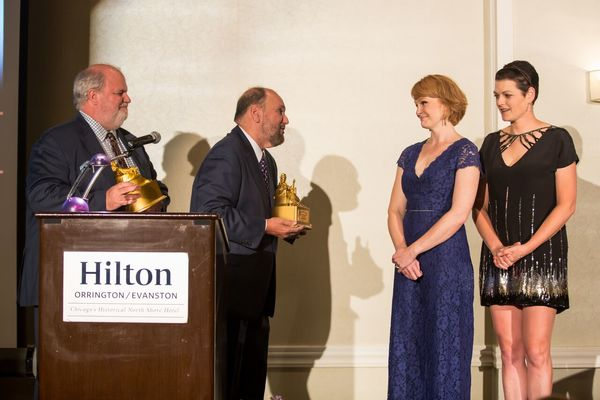 Marty Balogh, Dominic Missimi, Kate Baldwin and Kate Shindle