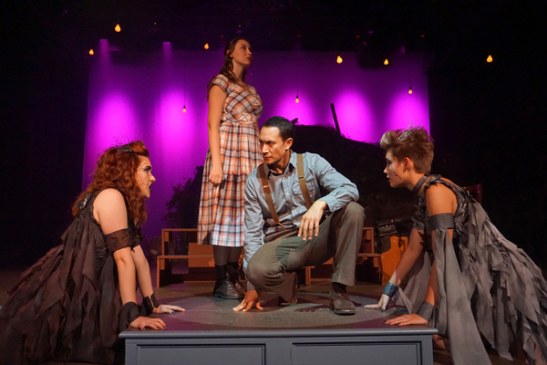 Photo Flash: DARK OF THE MOON at The Sherman Playhouse