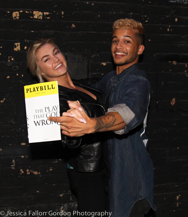 Jordan Fisher and Lindsay Arnold Photo