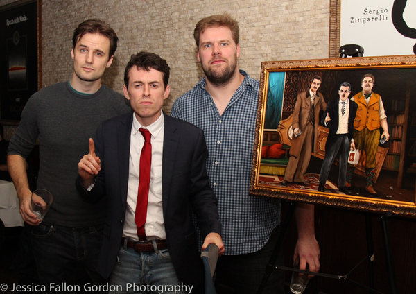 Henry Shields, Jonathan Sayer and Henry Lewis Photo
