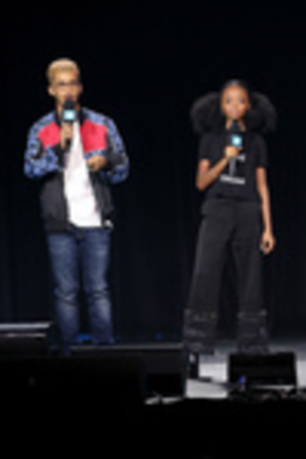 Jordan Fisher and Skai Jackson Photo