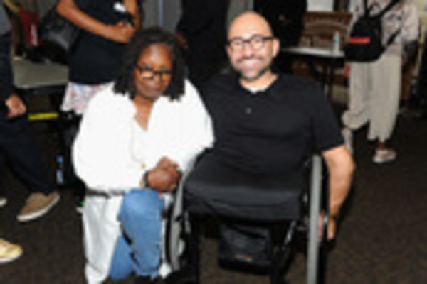 Whoopi Goldberg and Spencer West  Photo