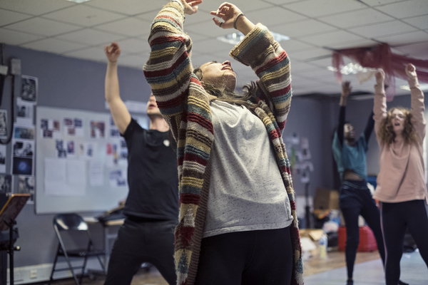Photo Flash: Inside Rehearsal for HAIR's Immersive 50th Anniversary Production at The Vaults