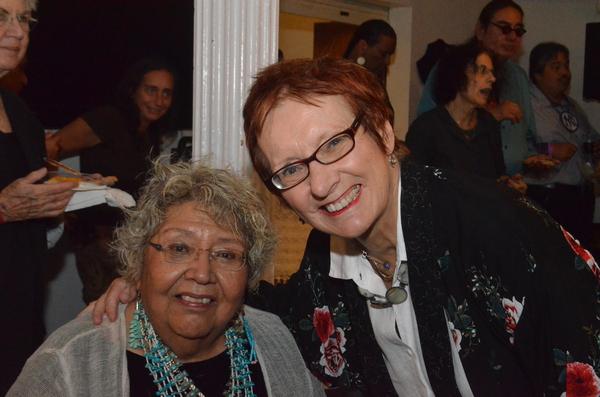 Muriel Miguel and JoAnne Akalaitis