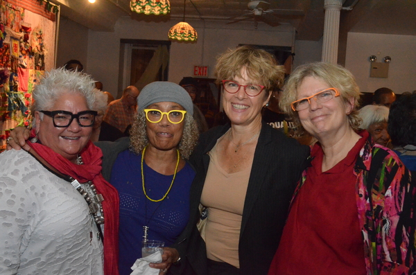 JoAnn Chase, Pat Cruz, Laura Flanders, Carey Lovelace Photo