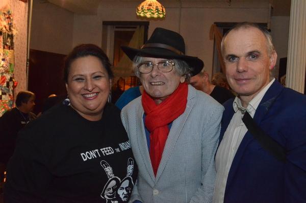 Murielle Borst Tarrant, Bette Bourne and Paul Shaw