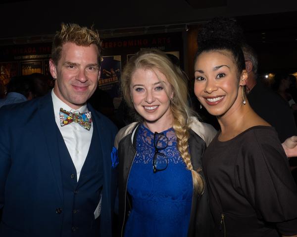 Jimmy Little, Carly Bracco, and Theresa Murray Photo