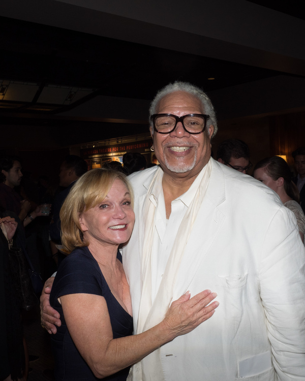 Cathy Rigby and Ken Page