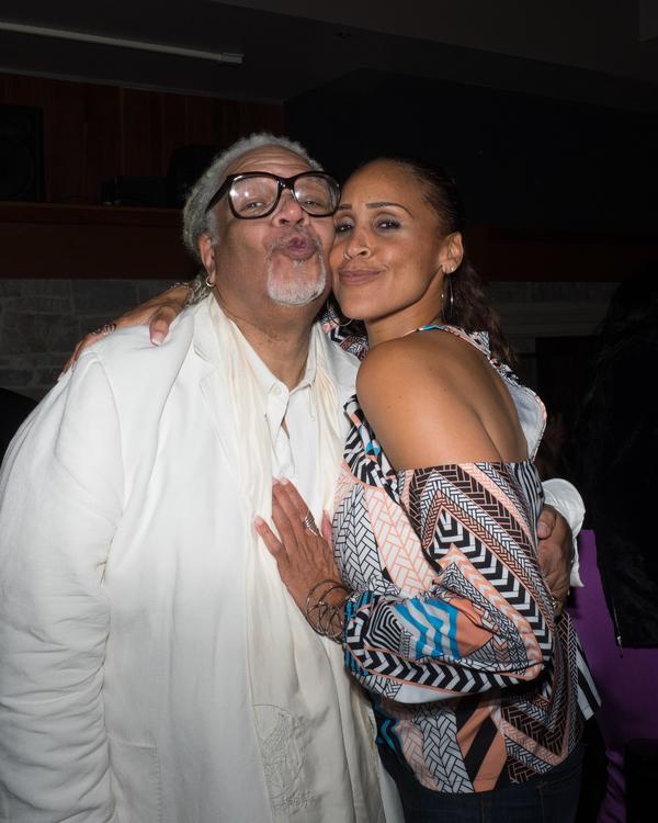 Ken Page and Nikki Crawford Photo
