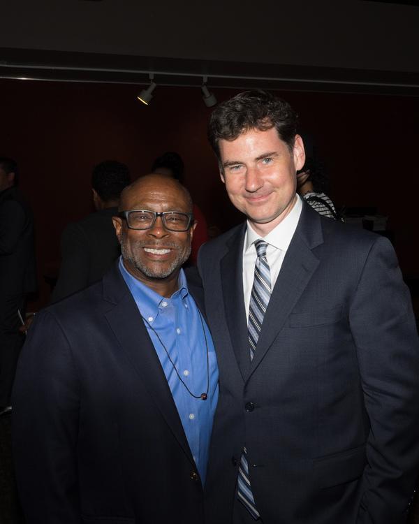 Jeffrey Polk and B.T. McNicholl Photo