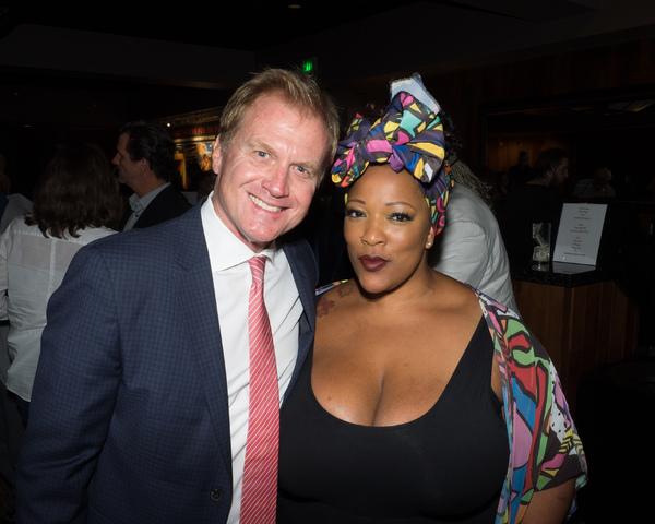 Tom McCoy and Frenchie Davis Photo