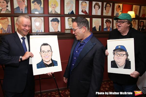 Max Klimavicius, Michael Mayer and Michael Moore