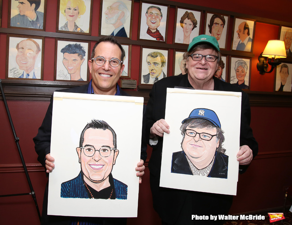 Michael Mayer and Michael Moore