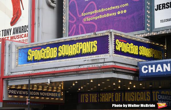 Up on the Marquee: SPONGEBOB SQUAREPANTS