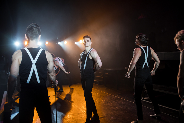 Photo Flash: First Look at Jonno Davies, Matt Doyle and More in A CLOCKWORK ORANGE Off-Broadway