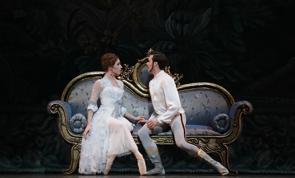 Ballet: Mayerling Choreographer: Sir Kenneth MacMillan Dancer(s): Connor Walsh as Prince Rudolf and Jessica Collado as Empress Elizabeth Photo: Amitava Sarkar Year: 2017